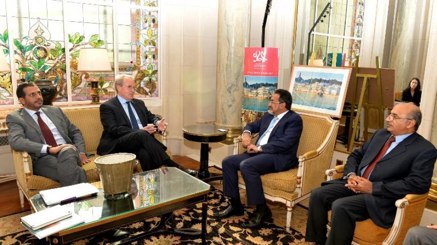 لقاءات واجتماعات معالي الوزير في فرنسا (1)