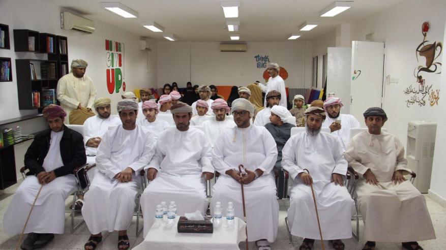 تكريم الفائزين في مسابقات إبداعات شبابية بنادي النهضة بالبريمي