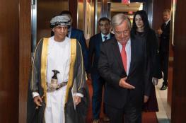 الأمين العام للأمم المتحدة يشيد بحكمة جلالة السلطان
