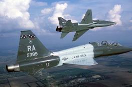 تحطم طائرة حربية أمريكية ومصرع أحد طياريها