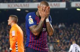 سرقة منزل بواتينج أثناء مباراة برشلونة وبلد الوليد