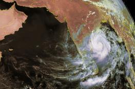 أخر تطورات الإعصار المداري (fani)  في المحيط الهندي