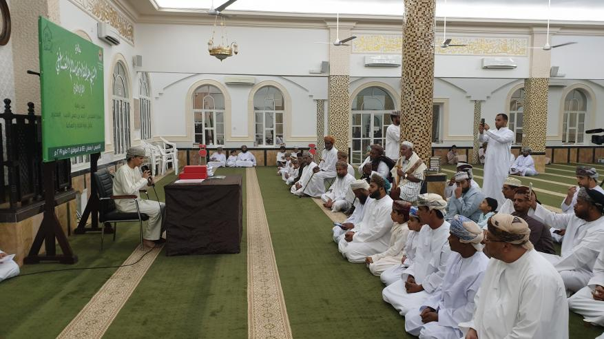 تكريم الفائزين في مسابقة جائزة الشيخ عبدالقادر