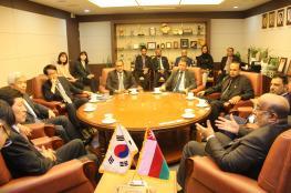 """رئيس """"اقتصادية الدقم"""" يدعو اتحاد المقاولين الدوليين بكوريا للاستثمار في المنطقة"""