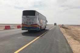 وزارة النقل تفتتح (27) كم من مشروع ازدواجية طريق أدم ـ هيماء ـ ثمريت