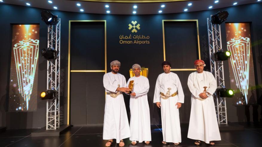 """تتويج """"أوريدو"""" بجائزة الشريك المتميز في خدمات الاتصالات من """"مطارات عمان"""""""