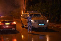 أمطار متفاوتة الغزارة على المحافظات.. والشرطة تنفذ عمليات إنقاذ