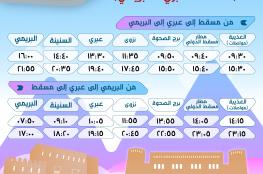 """""""مواصلات"""" تطلق أولى رحلات خط """"مسقط - عبري - البريمي"""".. الجمعة"""