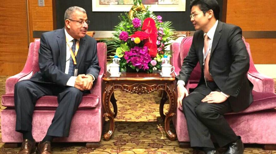 محسن الشيخ يشارك في ملتقى رؤساء بلديات العالم بالصين