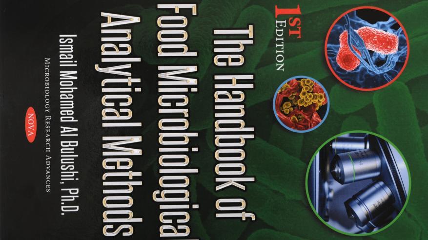 أكاديمي بجامعة السلطان قابوس يصدر كتابا عن طرق التحاليل الميكروبية