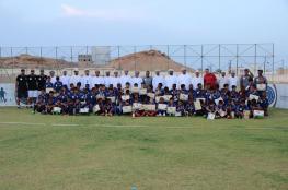 مدرسة أوميفكو لكرة القدم تختتم البرنامج الأول للموسم الـ 11