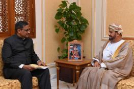 """بدر بن سعود يستعرض التعاون القائم مع """"الدفاع"""" الهندية"""