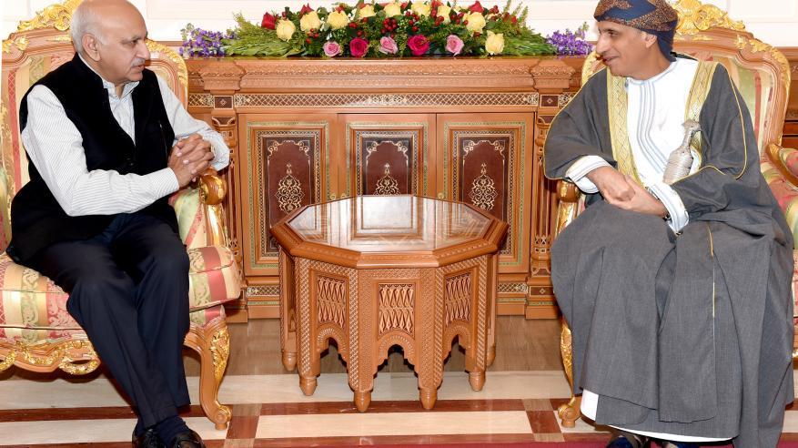 السيد فهد يشيد بالعلاقات العمانية الهندية ويؤكد أهمية تطوير الشراكة العربية الهندية