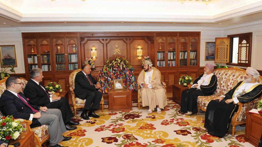 جلالة السلطان يتلقى رسالة شفهية من السيسي.. وجلسة مباحثات بين السلطنة ومصر لتعزيز التعاون