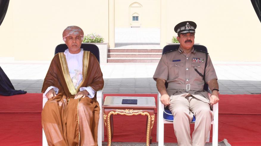 شرطة عمان السلطانية تحتفل بافتتاح مركز شرطة ثمريت1