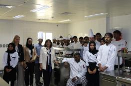 ورشة عمل للتدريب على الطبخ الهولندي في كليّة عمان للسياحة