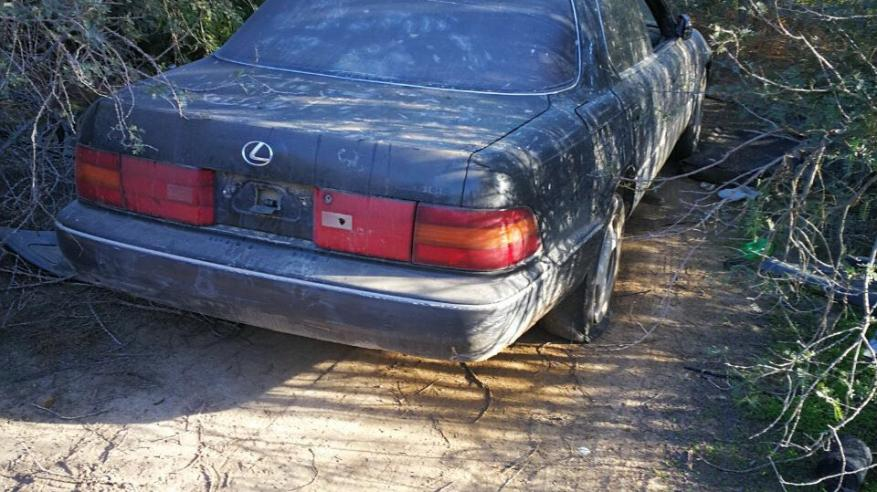 ضبط سيارة تفحيط في صحار