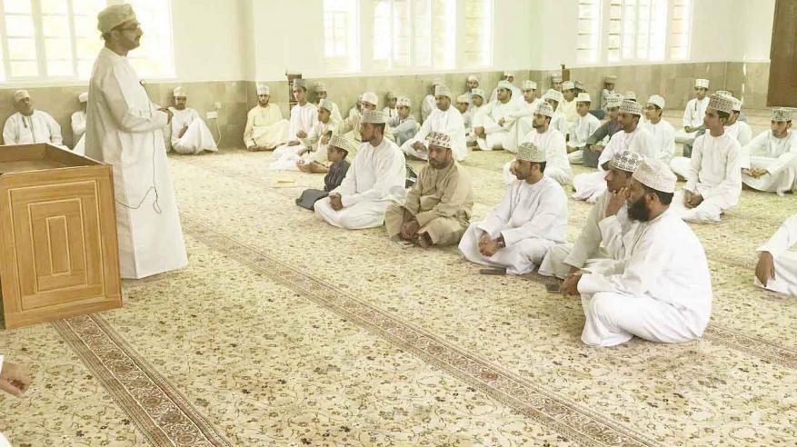 محاضرة في الذكاء الأخلاقي بجامع المسفاة بالرستاق