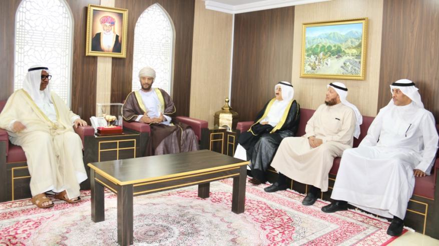 رئيس حقوق الإنسان يلتقي برئيس ديوان حقوق الإنسان بدولة الكويت الشقيقة
