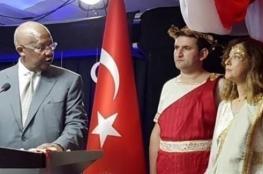 غضب في أنقرة بسبب فستان سفيرة تركية