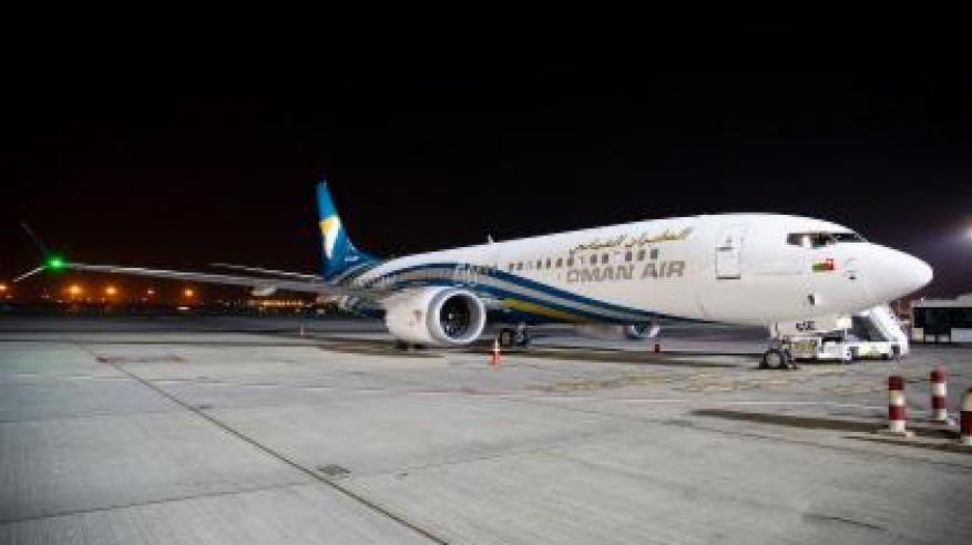 """الـ """"بوينج 737 ماكس 8"""" تنضم إلى أسطول الطيران العُماني"""