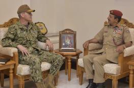 رئيس الأركان يستقبل قائد القوات البحرية بالقيادة الوسطى الأمريكية