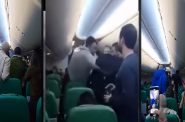 بالفيديو.. تونسي يتسبب في هبوط اضطراري لطائرة فرنسية