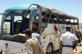 """بالفيديو.. """"داعش"""" يتبنى الهجوم الإرهابي على حافلة أقباط بمصر"""