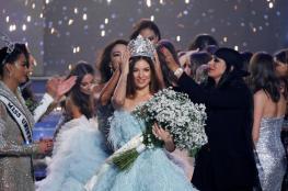 بالصور.. مايا رعيدي تتوج بلقب ملكة جمال لبنان 2018