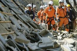 بالفيديو.. مقتل وإصابة العشرات بسبب زلزال في اليابان
