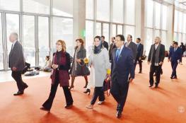 الوفد العماني في باريس يزور المكتبة الوطنية الفرنسية