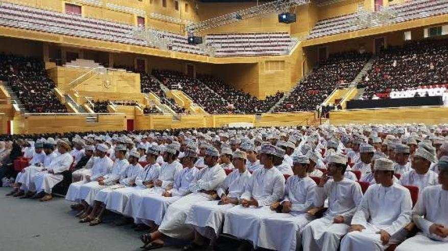 3 آلاف طالب جديد يحملون شعلة العلم في جامعة السلطان قابوس