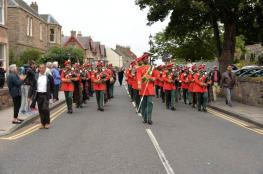 موسيقى الجيش السلطاني العماني الأولى بمسابقات القرب والطبول في أسكتلندا