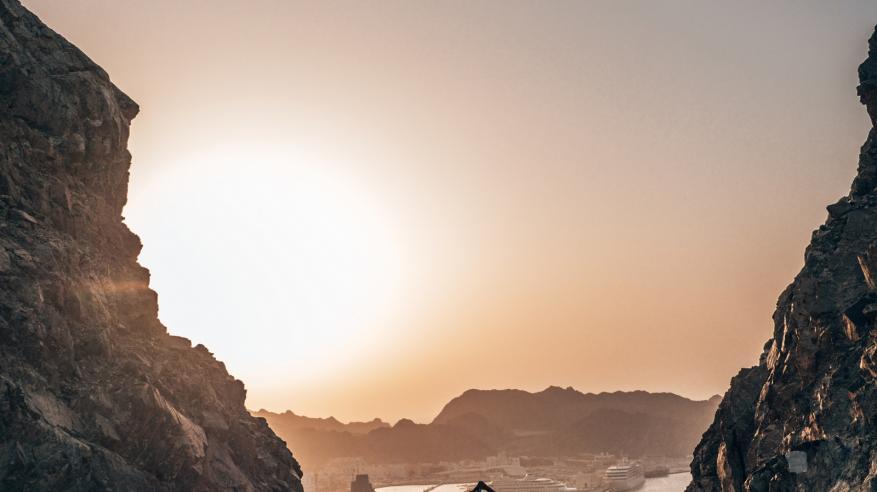 Yoga Sunset - Muscat