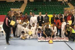 أكاديمية مجان تفوز بـ 12 ميدالية متنوعة في بطولة عمان للتايكندو