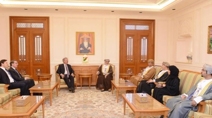 المنذري يبحث مع وزير خارجية لكسمبورج تعزيز التعاون الثنائي