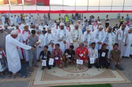 سباق للدراجات الهوائية بأدم احتفالا بالعيد الوطني