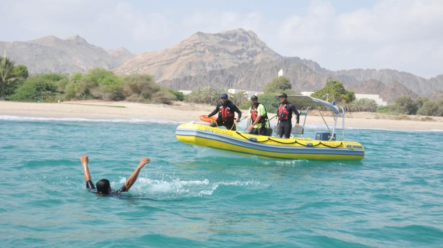 """""""الدفاع المدني""""تنصح باتباع إجراءات السلامة من حالات الغرق"""