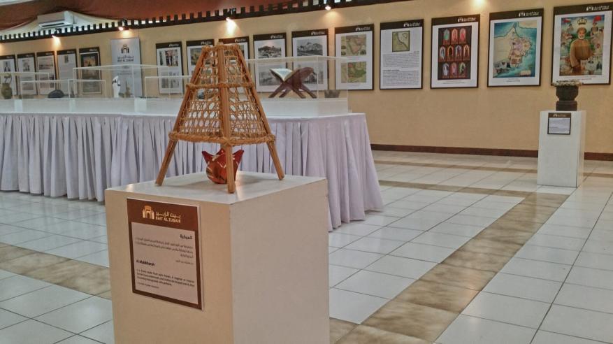 معرض بيت الزبير يفتح أبوابه لزوار المهرجان حتى الأحد المقبل
