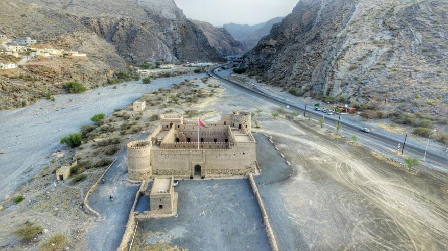 مدخل وادي بني خروص
