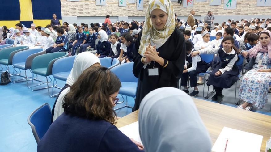 المدرسة العصرية تشارك في الاحتفال بيوم البيئة العماني