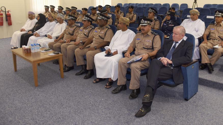 برنامج تدريبي وورشة في إدارة الأزمات بمركز شرطة الوطية