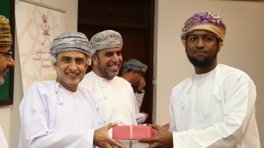 تكريم الفائزين بمسابقة القرآن الكريم بشؤون البلاط السلطاني في مسقط وصلالة