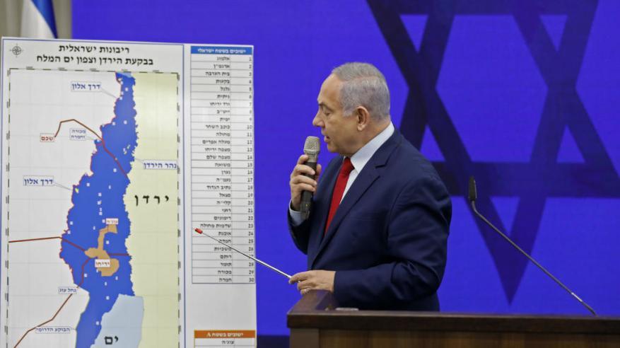 """""""نيويورك تايمز"""": """"ضم غور الأردن"""" حيلة انتخابية تهدد مستقبل نتنياهو"""