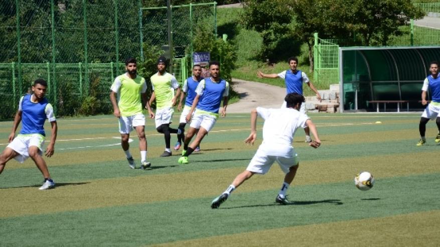 الأحمر الجامعي يفتتح البطولة الآسيوية بمباراة منتخب جنوب إفريقيا