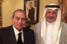 حسني مبارك يظهر من جديد برفقة شاعر سعودي