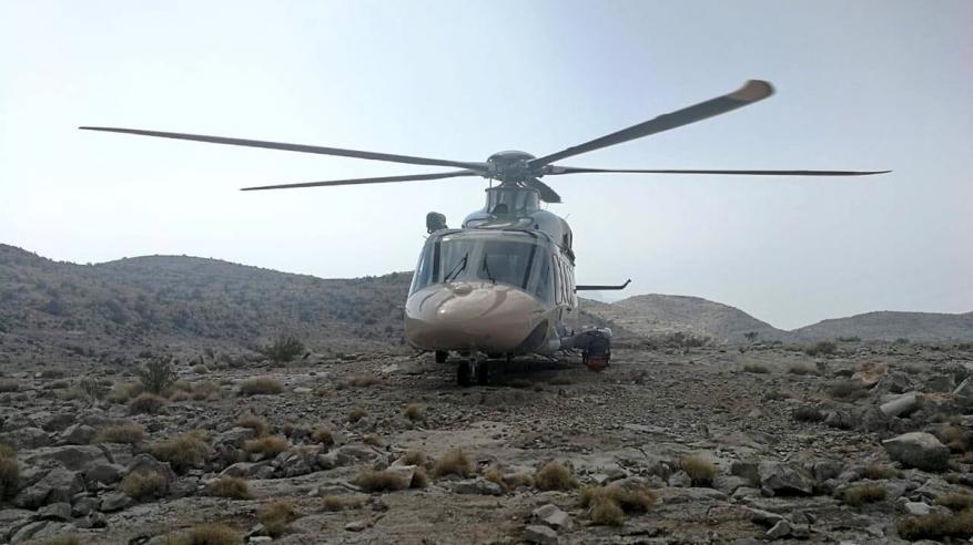 الشرطة : إنقاذ شخص أجنبي في جبل شمس بولاية الحمراء