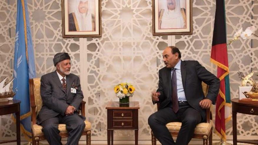 خلال اللقاء مع الخارجية الكويتي