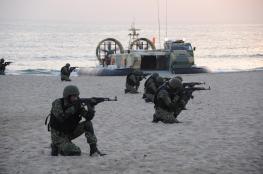 بدء الاستعراض الموسيقي الدولي والبيان العملي لعمليات مكافحة الإرهاب البحري