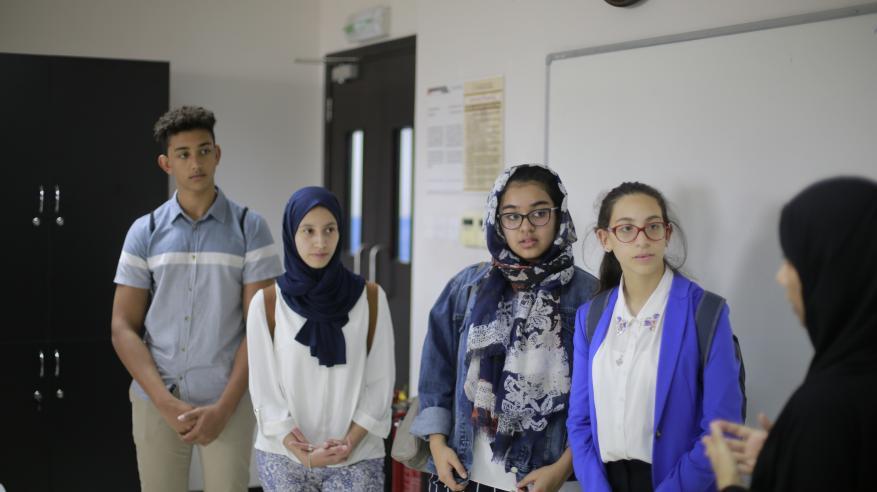 طلاب المدرسة البريطانية مسقط يعيشون تجربةً ثرية بكلية الشرق الأوسط